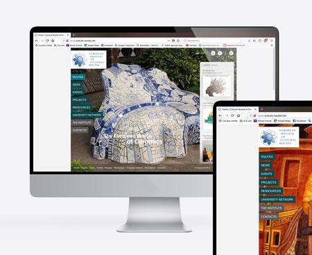 Institut européen des itinéraires culturels – Site internet