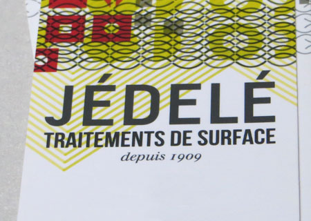 JÉDELÉ Traitements de surface