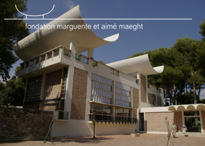 Fondation Maeght – Site internet