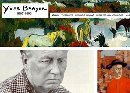 Musée Yves Brayer – Site internet