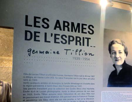 Les Armes de l'Esprit – Germaine Tillion 1939-1954