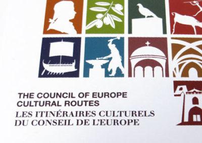 Institut européen des itinéraires culturels – Communication print