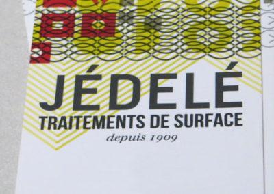 JÉDELÉ Traitements de surface