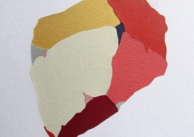 Cailloux – marqueterie papier