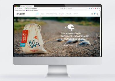 HIT&SHOT – Le site web